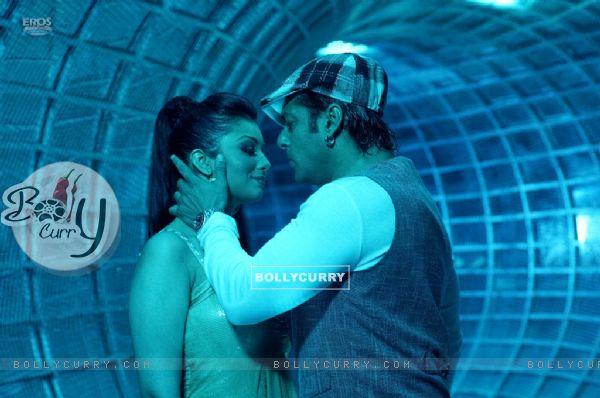 Lovable scene of Salman and Ayesha
