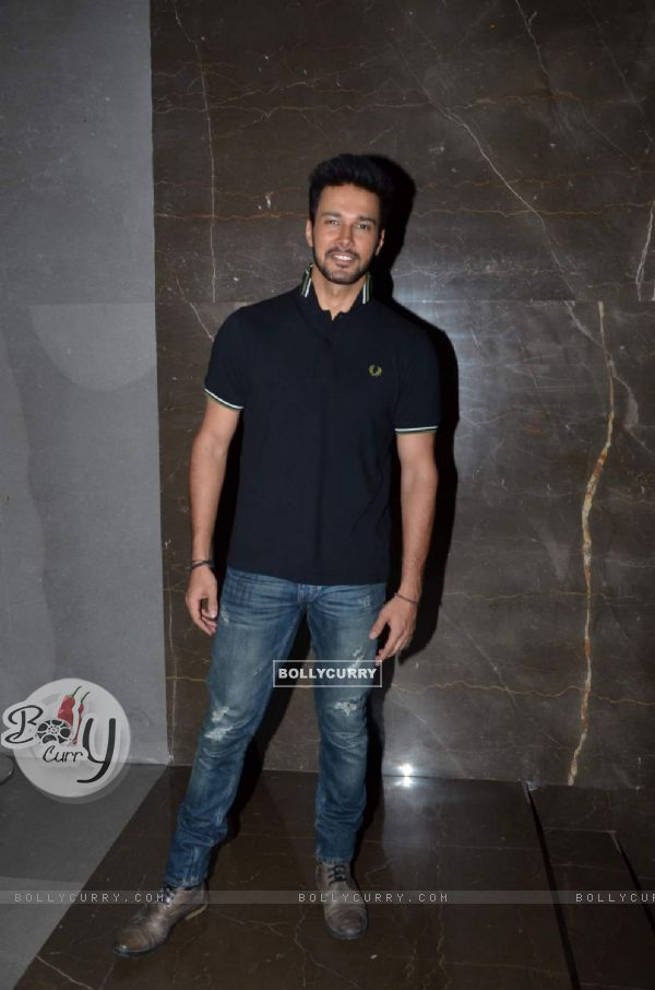 Rajneesh Duggal poses for the media at the Special Screening of Amy