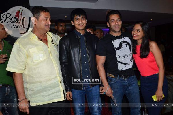 Salman Khan at Promotions of Marathi Movie 'Janiva'