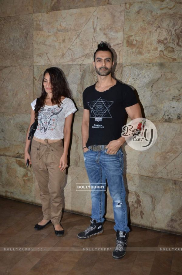 Ashmit Patel poses for the media at the Special Screening of Bajrangi Bhaijaan