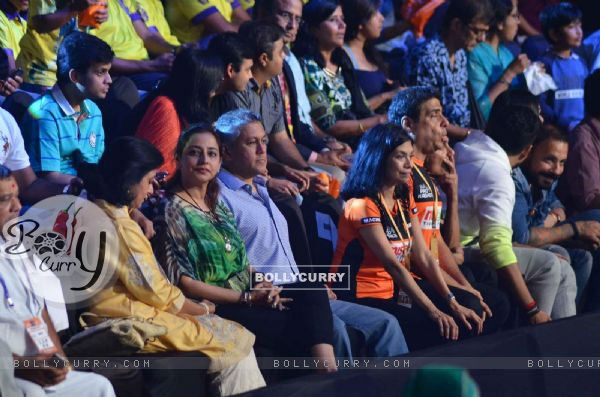 Ronnie Screwvala was snapped enjoying the Pro Kabaddi Match