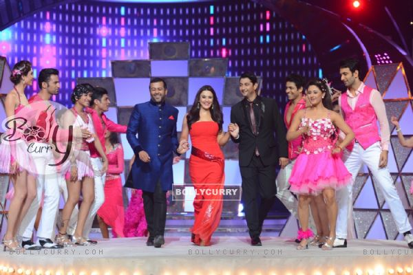 Judges perform at the Grand Finale of Nach Baliye 7