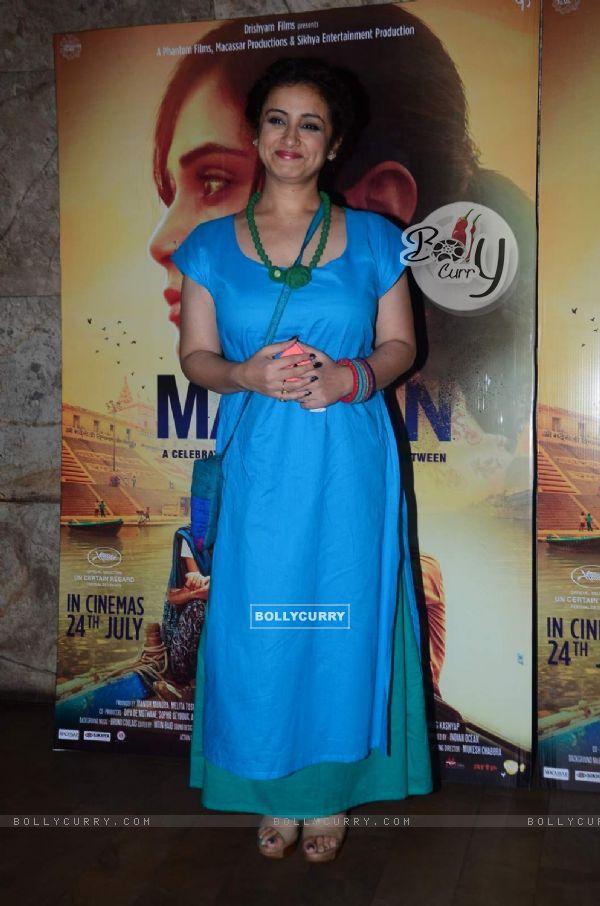 Divya Dutta at Special Screening of Masaan