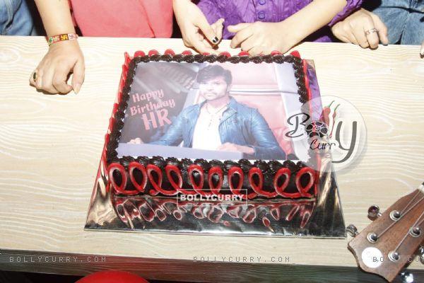 Himesh Reshammiya Birthday Cake