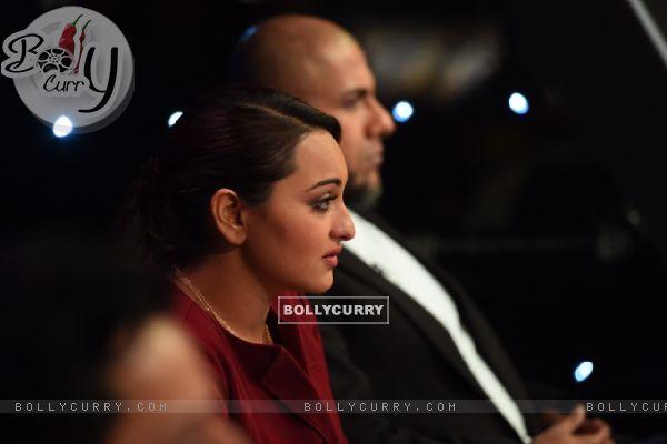 Sonakshi Sinha at Indian Idol Junior Season 2