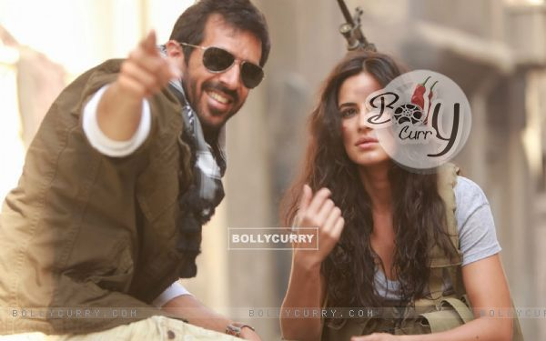 Kabir Khan and Katrina on the Sets of Phantom
