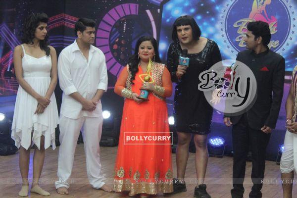 Aishwarya Sakhuja, Rohit Nag Bharti Singh, Krishna Abhishek at Comedy Classes