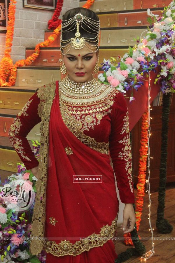 Rakhi Sawant on the Sets of Comedy Classes