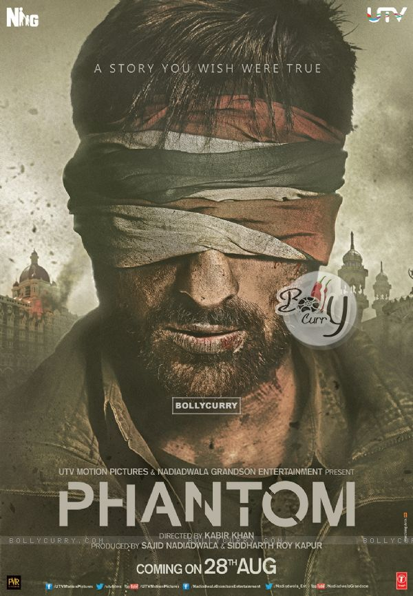 Saif Ali Khan's  Look in Phantom