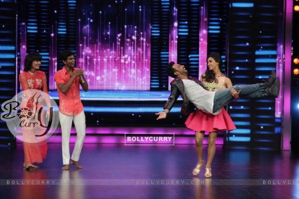 Shakti Mohan and Dharmesh Yelande on Dance Plus