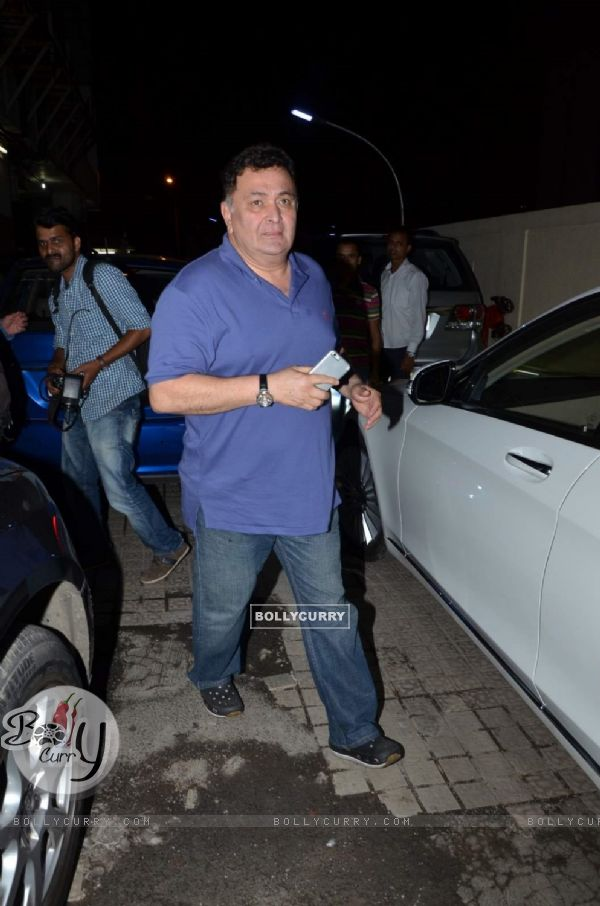 Rishi Kapoor Snapped