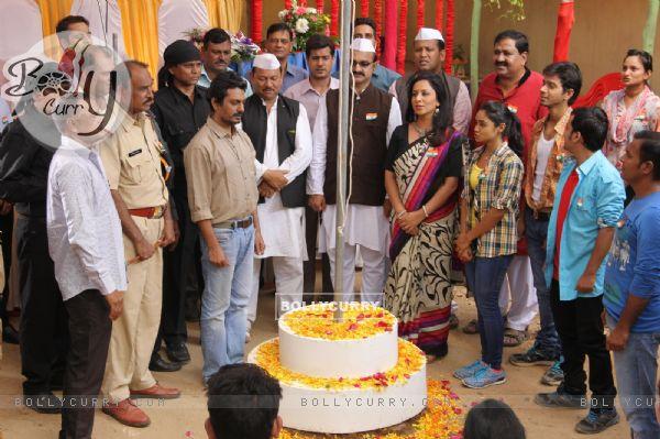 Nawazuddin Siddiqui Celebrates Independence Day in Udann