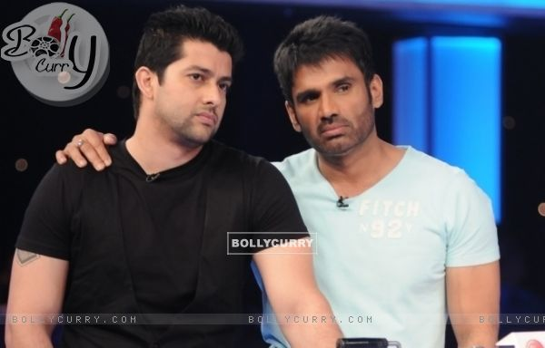 Sunil Shetty and Aftab Shivdasani