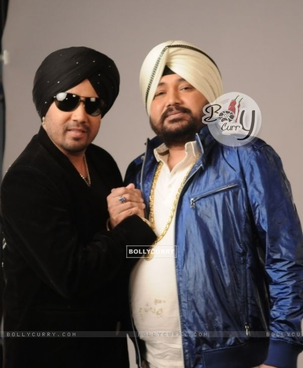Daler Mehndi and Mika Mehendi