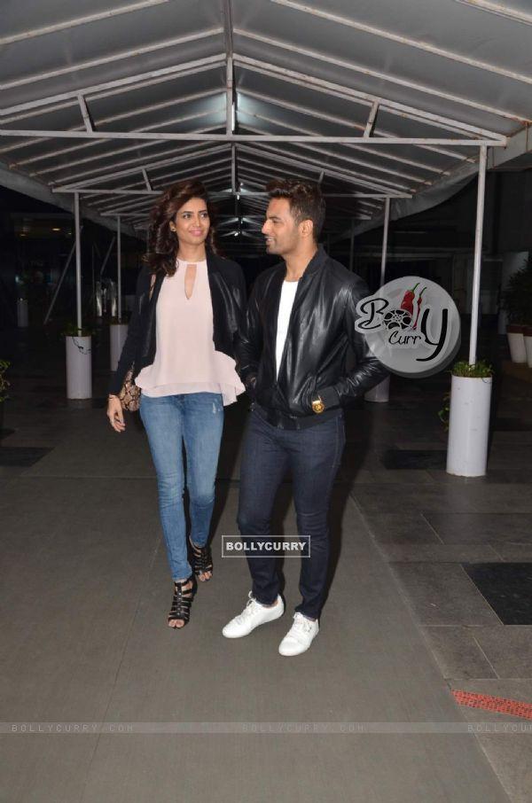 Karishma Tanna and Upen Patel Snapped