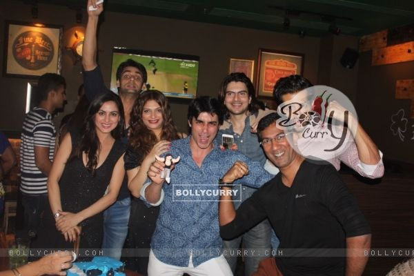 Gautam Rode's Friends at His Birthday Bash
