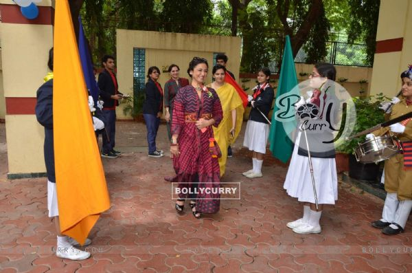 Divya Dutta at Ryan International School Event