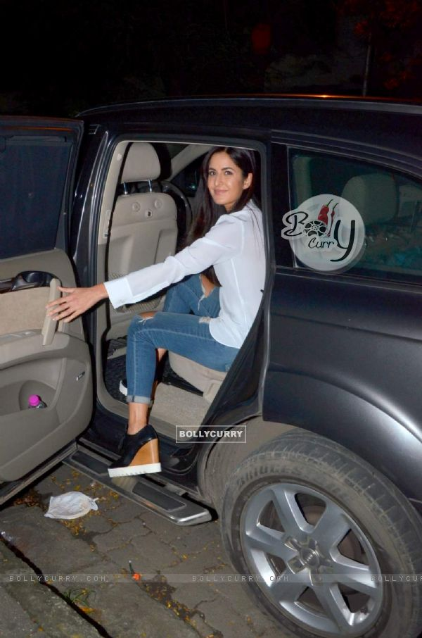 Katrina Kaif Snapped at Bandra