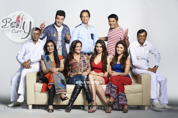 Cast of Kis Kisko Pyaar Karoon