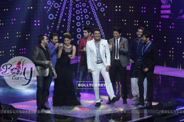 Kapil Sharma and Judges of The Voice : India at Grand Finale