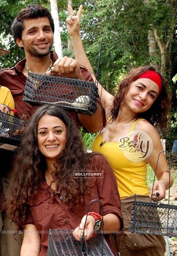 Anaida, Mona and Chetan