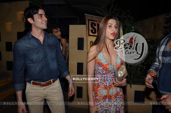 Gautam Rode and Shilpa Sakhlani at Sargun Mehta's Birthday Bash