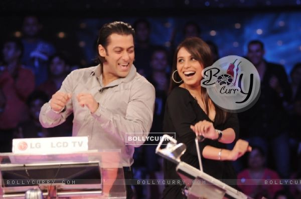 Rani Mukherjee with Salman Khan