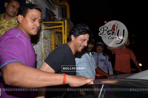 Shah Rukh Khan Snapped at Olive