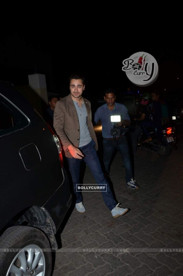 Imran Khan Snapped at PVR Juhu