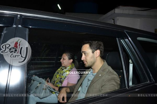 Imran Khan and Avantika Snapped at PVR Juhu