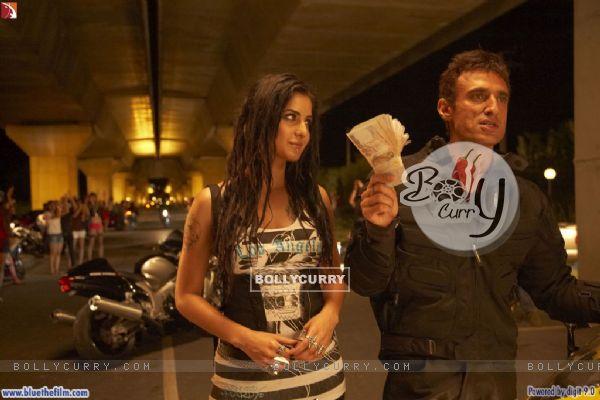 Rahul Dev with Katrina Kaif