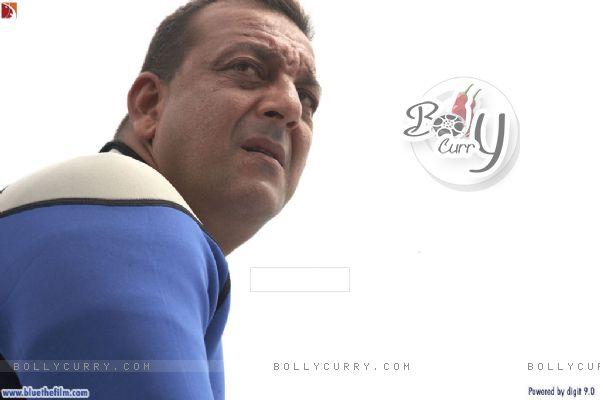 Sanjay Dutt looking worried (37808)