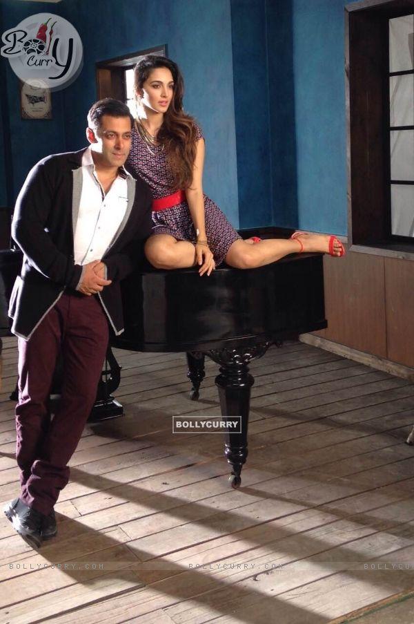 Salman Khan & Kiara Advani