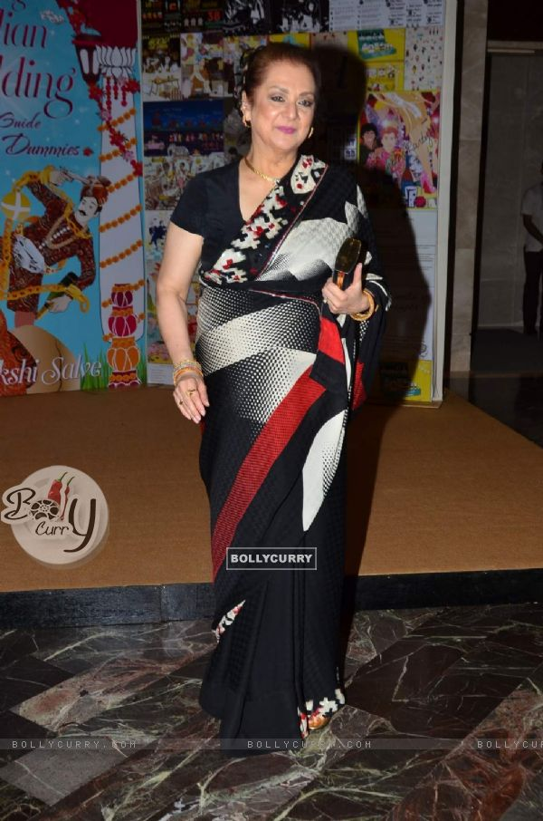 Saira Banu at the Launch of Sakshi Salve's Book 'The Big Indian Wedding'