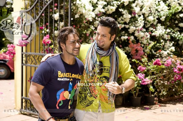 Ajay Devgan and Fardeen Khan