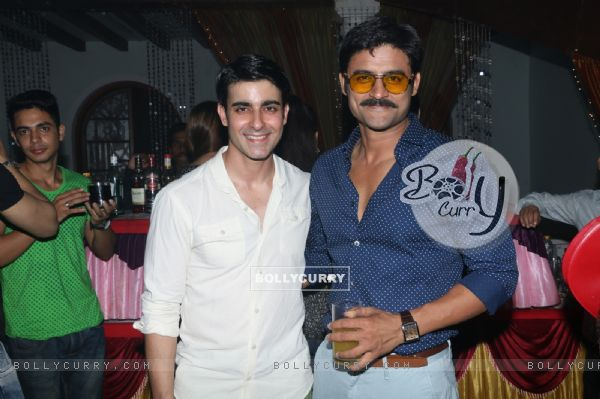 Gautam Rode and Manav Gohil at Siddharth Kumar Tewary's Birthday Bash