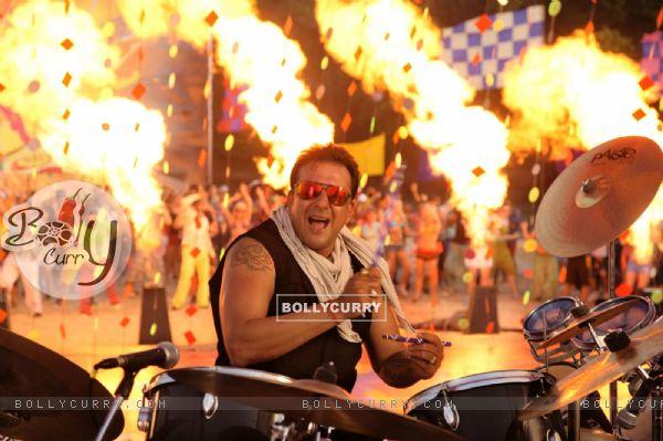 Sanjay Dutt Playing music instrument (37848)