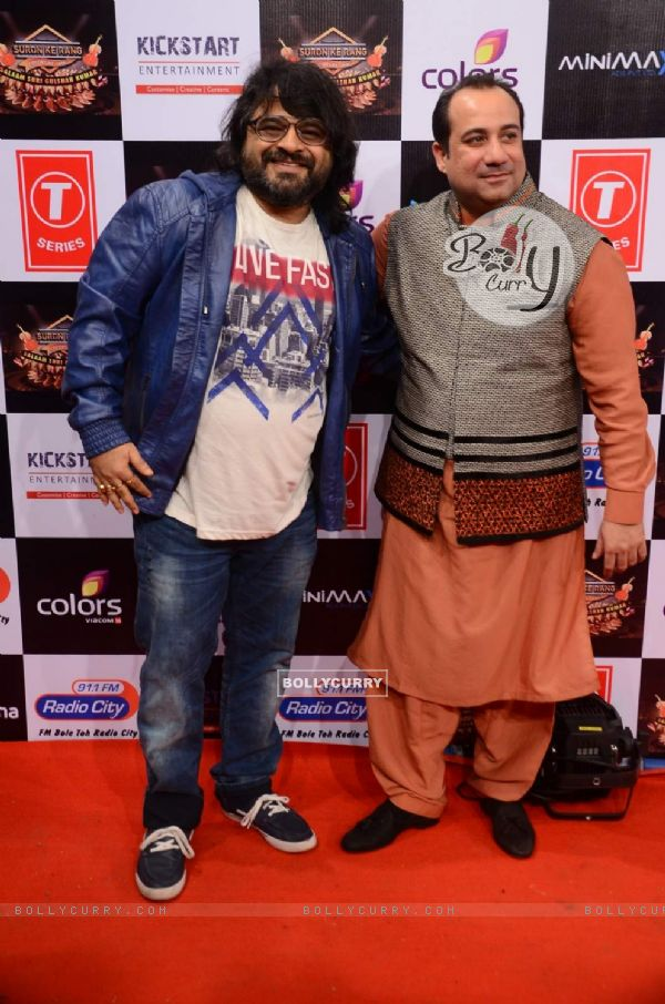 Pritam and Rahat Fateh Ali Khan Pays Tribute to Gulshan Kumar