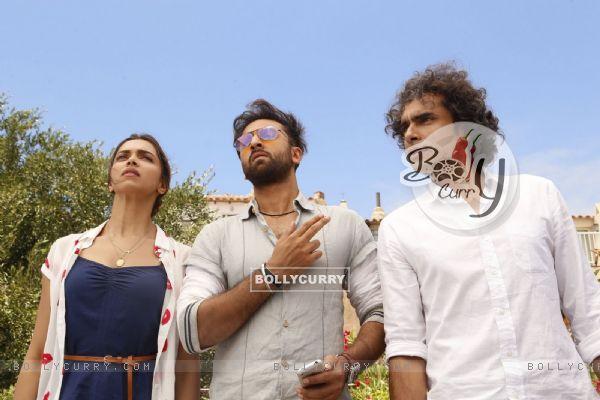 Stills From Tamasha Starring Ranbir Kapoor, Imtiaz Ali and Deepika Padukone