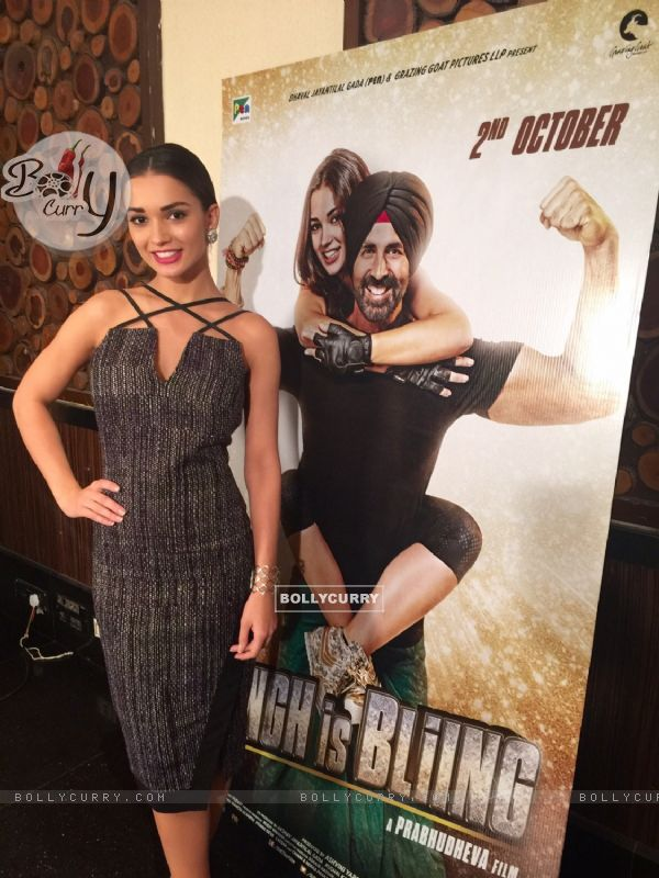 Amy Jackson at Singh is Bling Press Meet (379255)