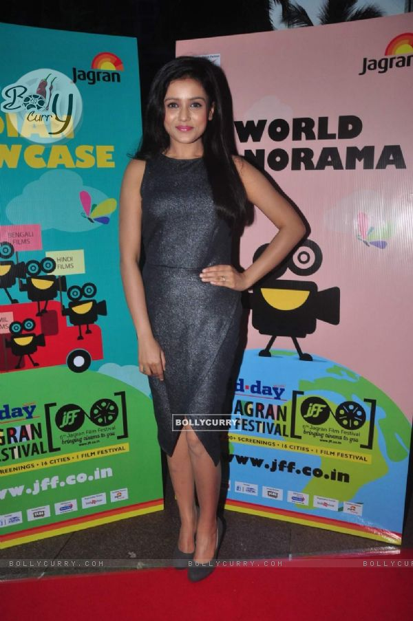 Mishti at the Opening of the 6th Jagran Film Festival