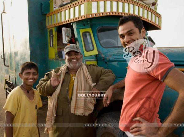 Abhay Deol and Satish Kaushik