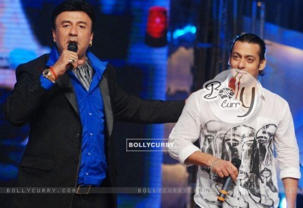 Anu Malik with Salman Khan