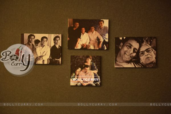 Collage of Family Pictures on the Bedroom Wall in Salman Khan's Chalet at Bigg Boss Nau