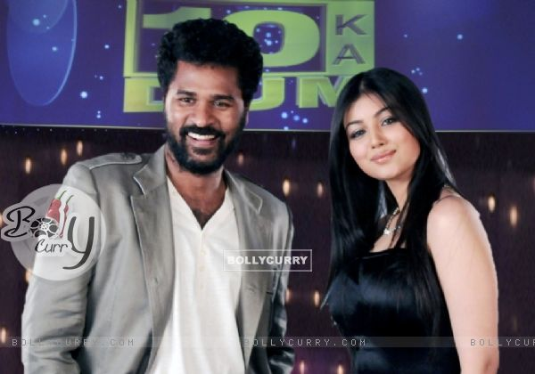 Prabhu Deva and Ayesha Takia