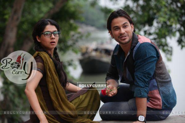 Payal Sarkar and Kunal Khemu in Guddu Ki Gun