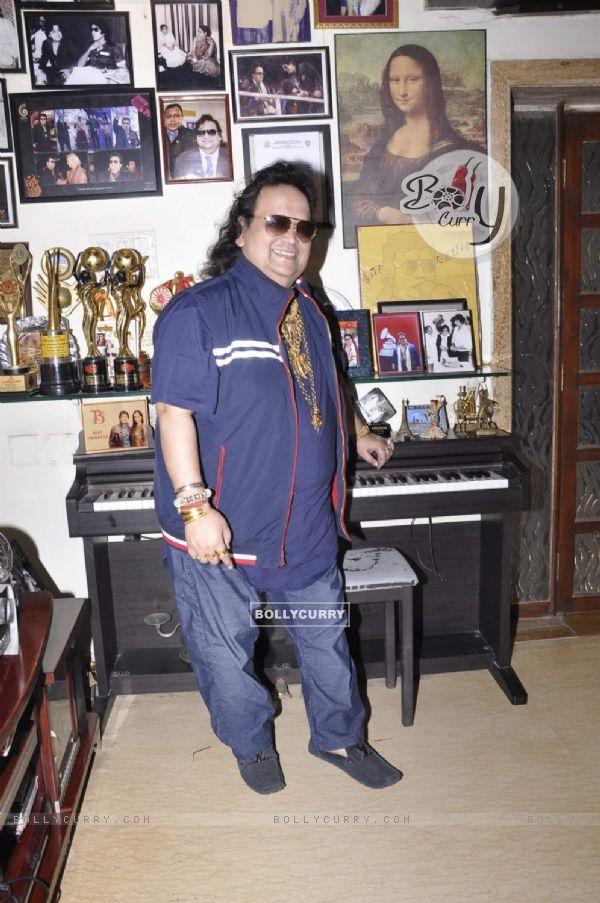 Bappi Lahrri Records for New Film by Govind Sakariya