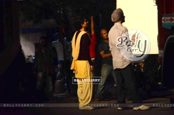 Kareena Kapoor and Diljit Dosanjh on Location of Udta Punjab (382240)