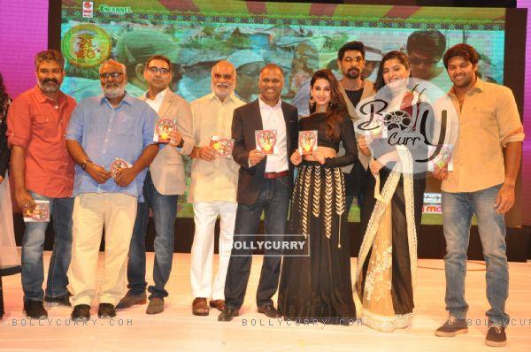 Sonal Chauhan and Rana Daggubati Snapped at an Event