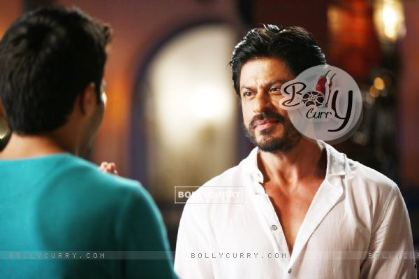 Shah Rukh Khan in the movie Dilwale